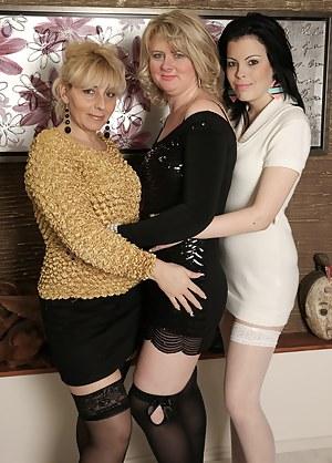 Locker Room Lesbian Orgy