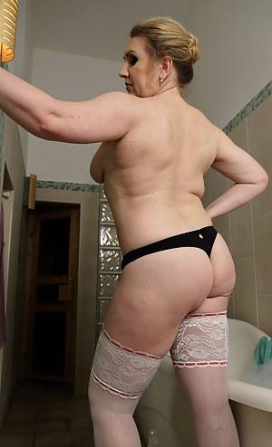 Horny brunette wife in lingerie fucks to pay husband